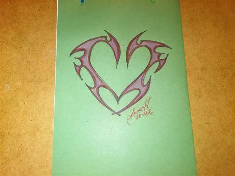 imagenes para dibujar tattoo como dibujar un coraz 243 n para hacer tatuaje how to draw a