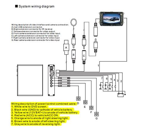 100 wireless rear view wiring diagram
