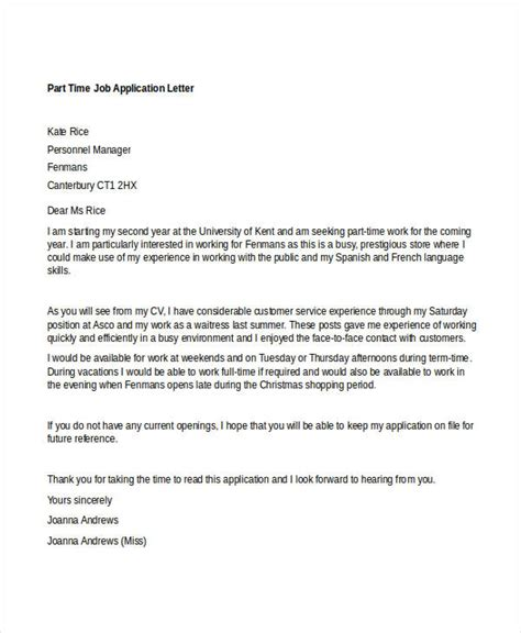 application covering letter template 95 best free application letter templates sles pdf