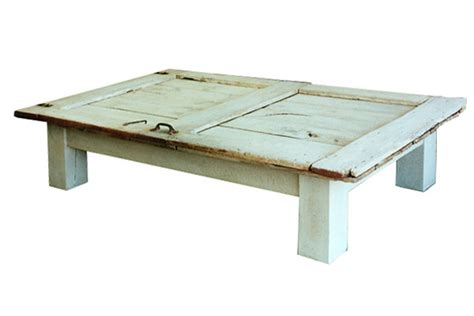 barn door coffee table dorset custom furniture