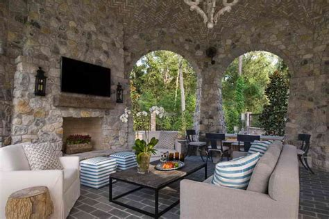 some unique ideas of outdoor living room design vissbiz