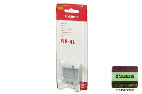 Battery Canon Nb 4l By New Digital canon battery pack nb 4l canon store