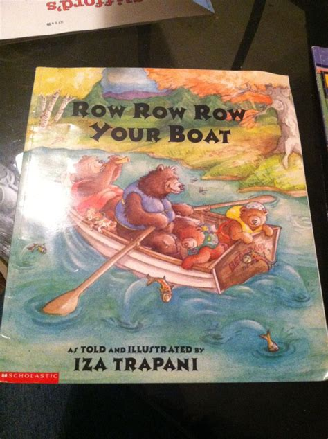 row row row your boat by iza trapani 17 images about kindergarten books 2014 on pinterest