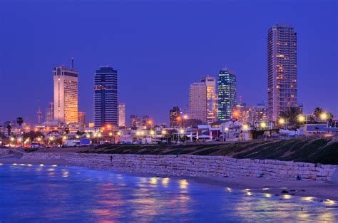 tel aviv skyline ritz carlton opens its first hotel in israel elite traveler