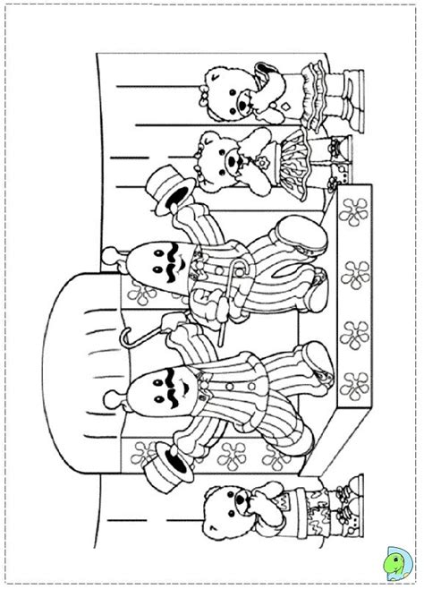 bananas in pajamas coloring pages coloring pages