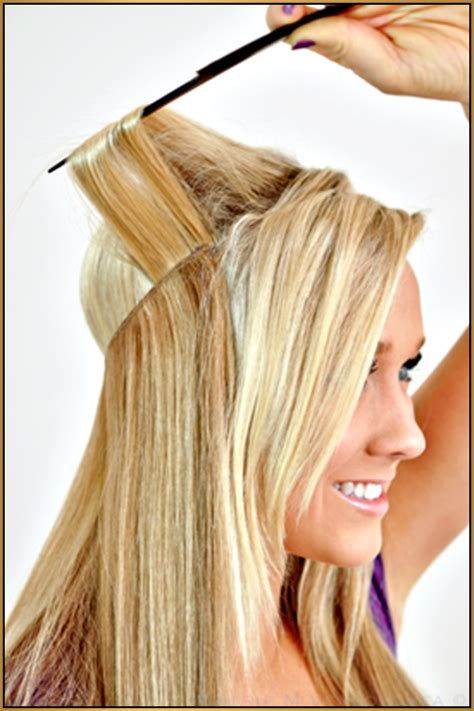 how to wear a ponytail with halo extensions introducing halo couture hair extensions