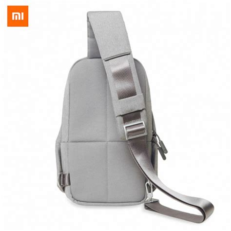 Best Seller Xiaomi Multifunctional Crossbody Sling Bag Tas Selempang xiaomi multi functional leisure chest bag light grey 4l free shipping dealextreme