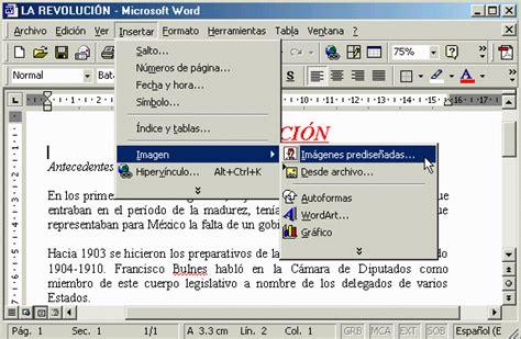 insertar varias imagenes word word insertar una imagen