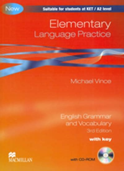 libro language practice new edition elementary language practice with key cd michael vince comprar libro en fnac es