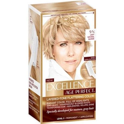 hairdresser loreal lowligh cvolours l oreal excellence age perfect layered tone hair color