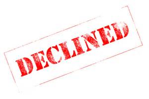 what to do next if you been declined for a loan