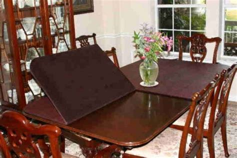 Dining Room Table Top Protectors Table Pads Custom Made Dining Room Table Pad Protectors