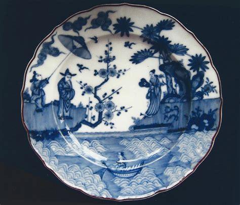 loosdrecht chinees een bord van blauw wit hollands porselein