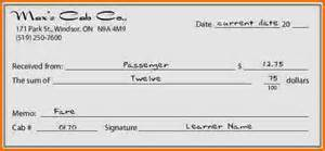 Receipt Template How To Fill Out A Receipt Book Expense Report