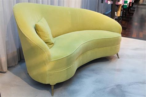 sofa gelb italian cosy chaise longue sofa in mustard for sale at 1stdibs