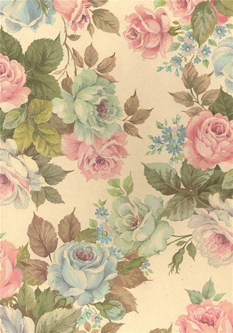 pastel flower pattern wallpaper 45 best pastel vintage images on pinterest prints