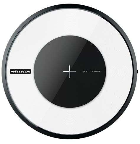 Nillkin Magic Disc 4 Fast Charger Qi Wireless Charging Pad Led nillkin magic disk 4 fast qi wireless charger for samsung galaxy s8 s8 plus s7 s7 edge