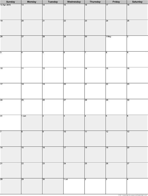 3 Month Calendar Template » Calendar Template 2017