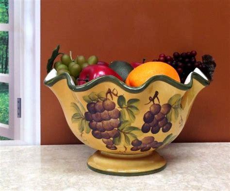 tuscany grapes kitchen decor tuscany grape fruit bowl new ebay