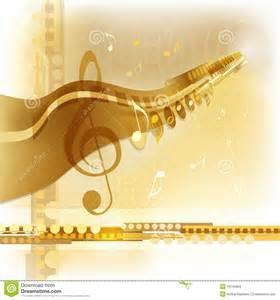 gold music background stock images image 19145964