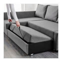 sofa mit bett friheten corner sofa bed with storage skiftebo grey