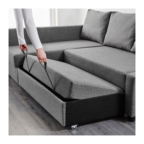 Corner Sofa Bed With Storage Ikea Friheten Corner Sofa Bed With Storage Skiftebo Grey Ikea