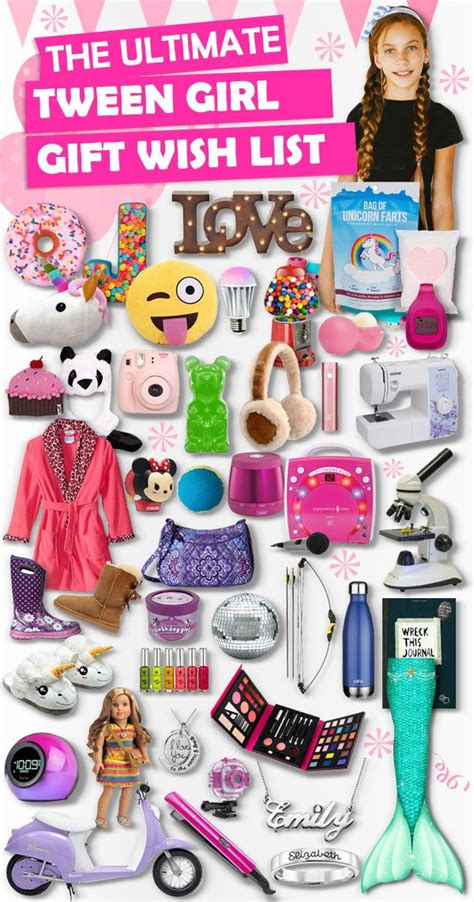 gifts for tween girls gaver og gaveideer