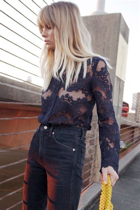 Ways To Wear Lace by 15 Fresh New Ways To Wear Lace Who What Wear