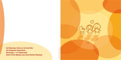 Hochzeitseinladung Orange by Hochzeitseinladung Ein Besonderes Orange