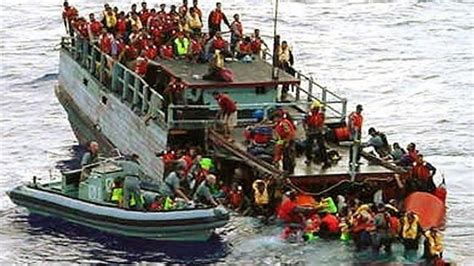 refugee boat stories presstv australia turns back refugee boat