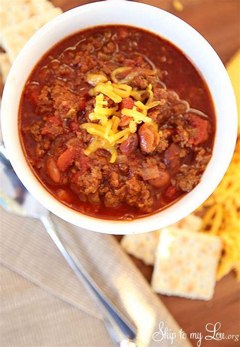 easy crock pot chili recipe dishmaps