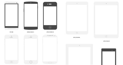 50 Free Wireframe Templates For Mobile Web And Ux Design Mobile Wireframe Template