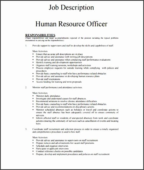 office junior description template 7 employee description template sletemplatess