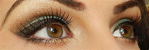 Eyeshadow Hijau makeup nuansa hijau dan coklat keemasan