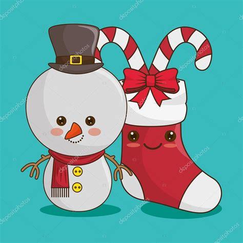 imagenes de navidad kawai feliz navidad personajes kawaii estilo archivo im 225 genes