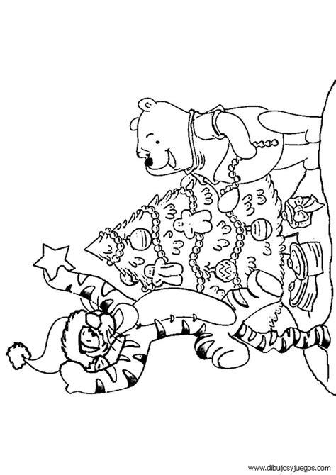 imagen de winnie pooh de navidad para colorear imagenes pin de disney con winnie the pooh para pintar y colorear