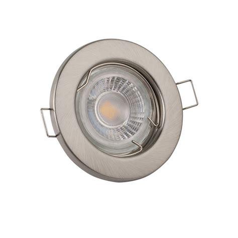 led light fittings fixed gu10 light fitting brushed chrome