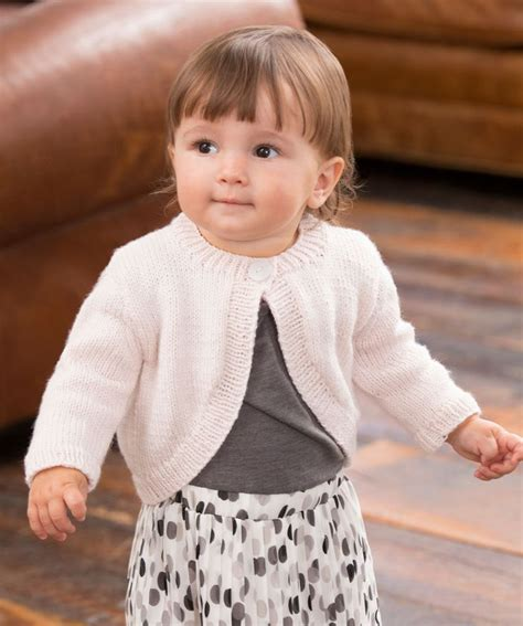 knit sweater shrug pattern knit the perfect shrug for a baby girl the fashionable