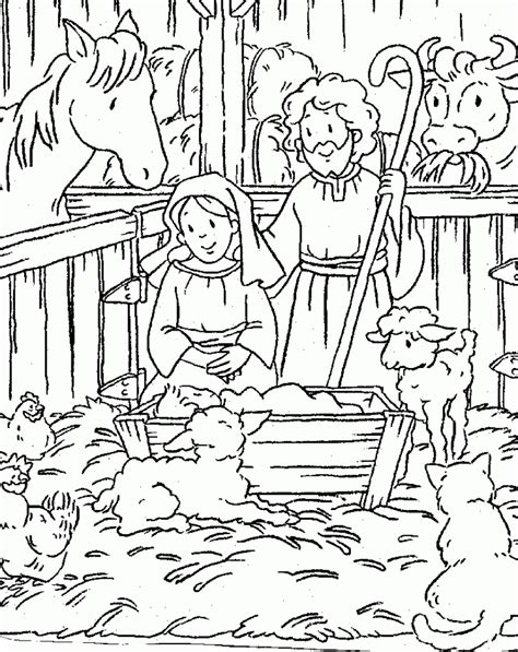 jesus christ coloring pages birth of jesus coloring