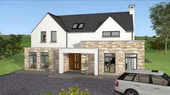 Modern Garage Designs irish house plans type mod038 exterior youtube