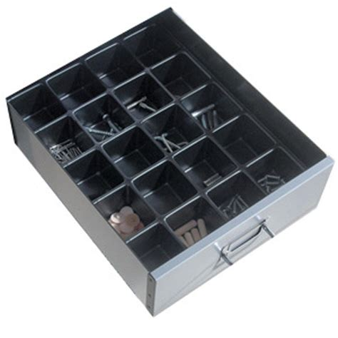 24 compartment drawer organizer bisley plastic 2inch insert tray 24 compartments ebuyer