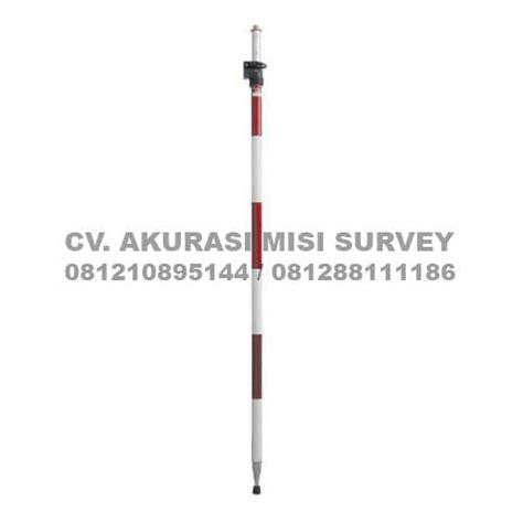 Jual Stik Survey Jalon 5m jual range pole prism pole pole stick jalon prisma ukuran