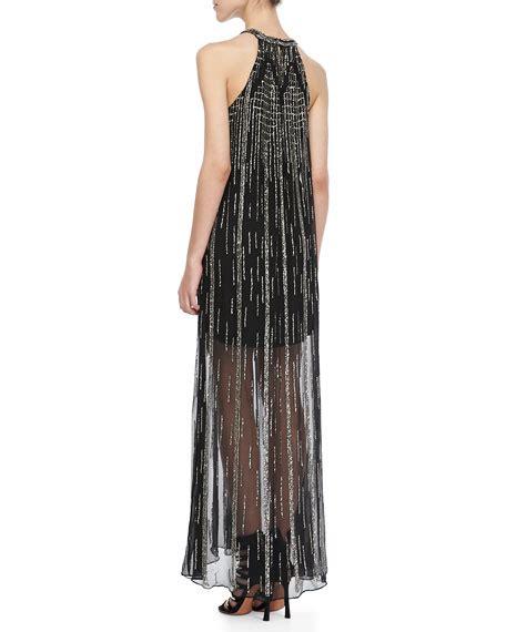 beaded halter maxi dress shane beaded halter maxi dress