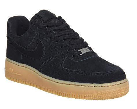 Nike Airforce 1 Lokal Size 37 40 nike air 1 07 prm black black gum suede junior