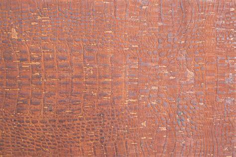 Cork Material Cork Fabric Croco Brown Sew Sweetness