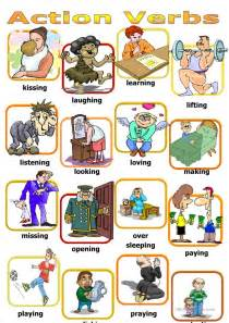 pattern action language qualitystage action verbs board game worksheet free esl printable