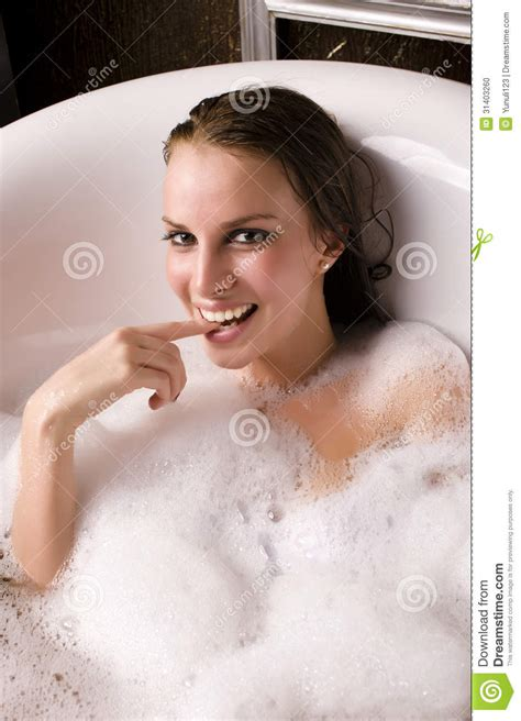 woman in bathroom beautiful woman in bathroom antiques stock photo image