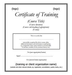 certificate of certification template sle certificate template 6 documents in psd