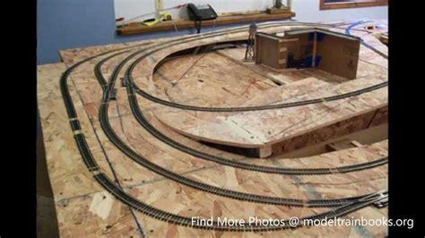 build  model train layout youtube