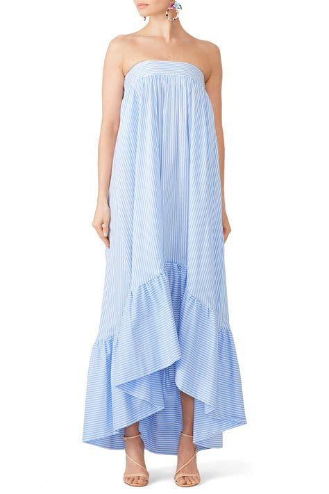 Cp Onet By Lim Shop Coll striped strapless maxi by christian pellizzari for 45